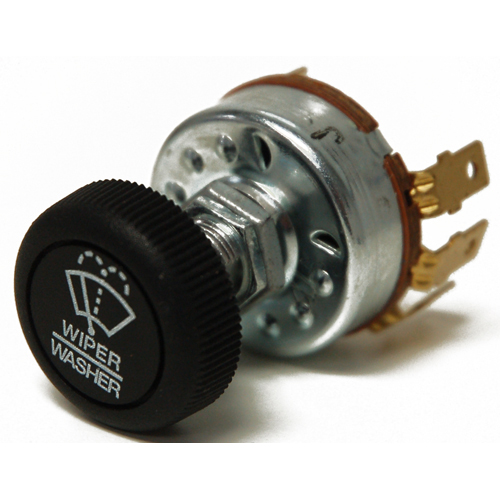 Double IMW Wiper Rotary Switch with Wash, 12-24V Do Not Use with Exalto Motors