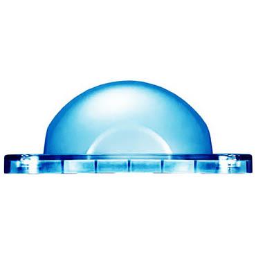 PCB Blue Lens for Offshore Series JBOX Cube Lt
