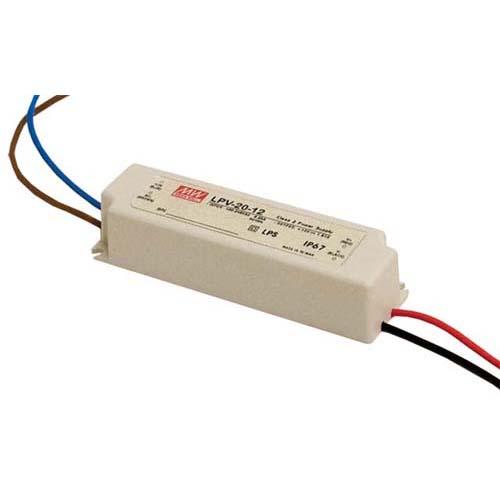 LED Converter: 90-264VAC to 12VDC, 20W