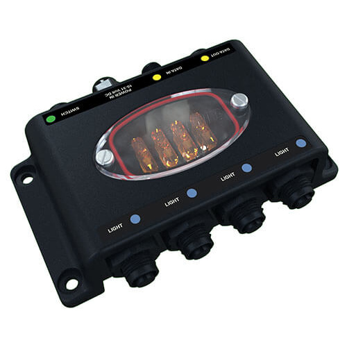 Lumishore TIX402 Lumi-Hub Junction Box Exclusively for TIX402 EOS Color Change Lights