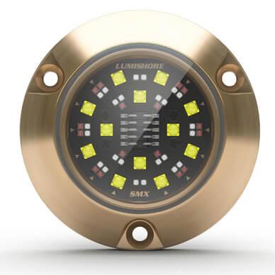 Lumishore M-Series SMX93, RGBW (Color Change), 36W 10-31VDC, Bronze