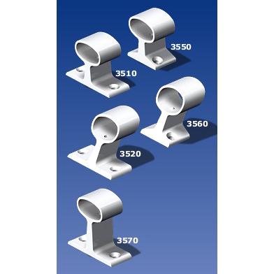 Handrail Bracket w/Screw Lock (Narrow Foot), 30°