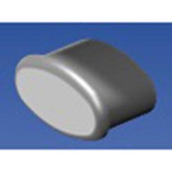 Eng Plug for Handrail, Grey