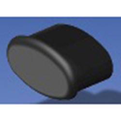 Eng Plug for Handrail, Black