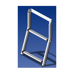 Two Rung Hinged Emergency Ladder