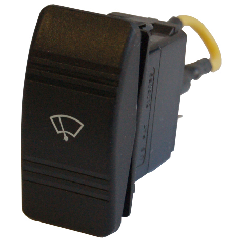 Rocker Switch for Wiper Motors, 2-Speed, 12/24V