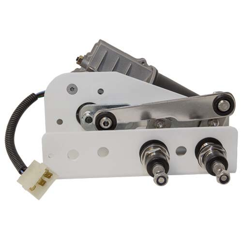 W50 Wiper Motor 12V 50Nm, 40mm Shaft, Dual Drive