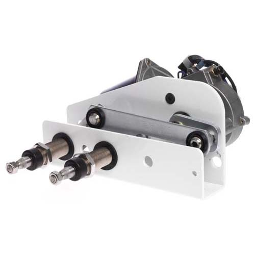 "W38 Wiper Motor, 12V, 38Nm, 50mm 50mm (2"") Bulkhead Thickness"