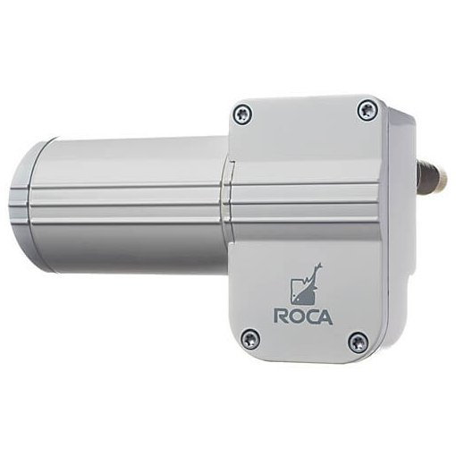 "W12 Wiper Motor, 1.5"" Shaft, 5/8"" bkhd, White, 12v"