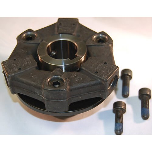 Flexible Coupler Complete, One-piece, Centa, 28mm to Motorshaft and 20mm to Driveshaft