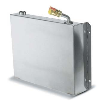 """Evaporator, Holding plate, Stainless steel, quick couplings, 12-3/4"""" L x 10-3/8""""W x 2-1/2""""H"""