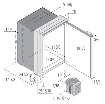 C55RBN4-F-1 dimensions