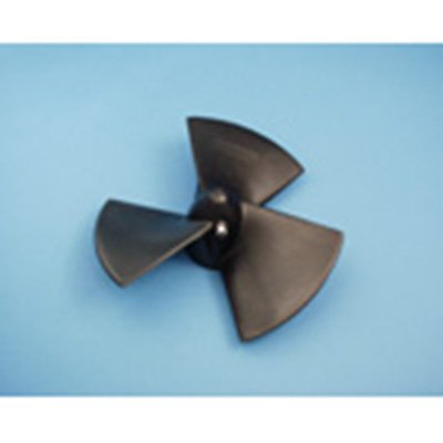 Propeller, 3-Blade, Composite for old 4hp&7hp w/14mm shaft & set scew
