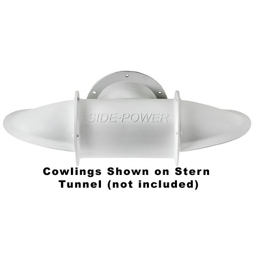 "Cowlings, set for 185mm (7.28"") Stern Tunnel GRP, Short Model"