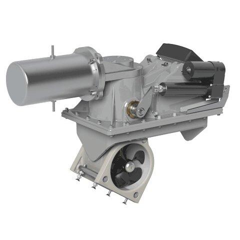 SRL100 Retractable Thruster 90Deg Motor 12v On-Off 100KG/220LB Thrust, Does not include frame