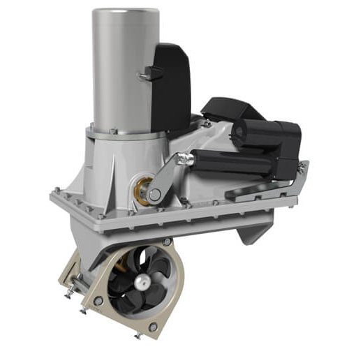 SRV100/185T Vertical retracting thruster kit, 12V, On Off control does not include mounting frame