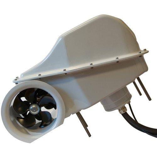 "SX80/185T 12V External Stern Thruster 80 kg (176 lbs), 185mm (7.3"") tunnel"